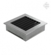 Вентиляционная решетка KRATKI fresh стальная 17х17, жалюзи