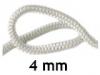 Шнур уплотнительный термостойкий 4 мм