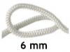 Шнур уплотнительный термостойкий 6 мм