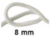 Шнур уплотнительный термостойкий 8 мм