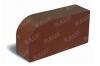 Кирпич полнотелый коричневый R60