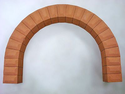Кирпичные арки для каминов, печей, барбекю
