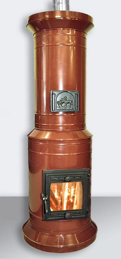 Печь круглая отопительная «ПКО-15»