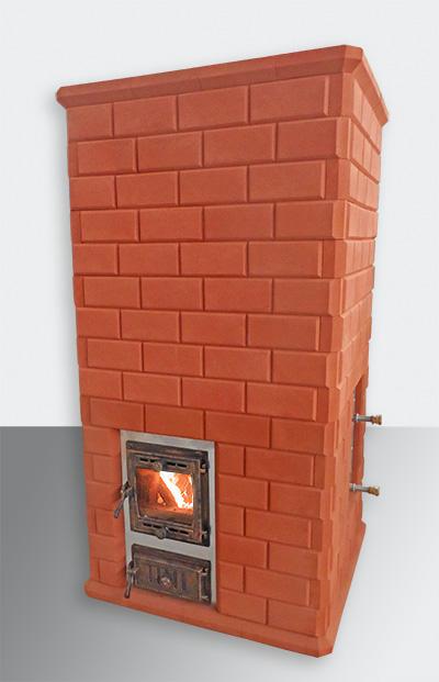 """Печь банная с обращённым пламенем """"Малиновые камни"""""""
